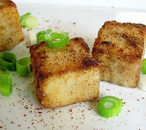 Sült fűszeres tofu
