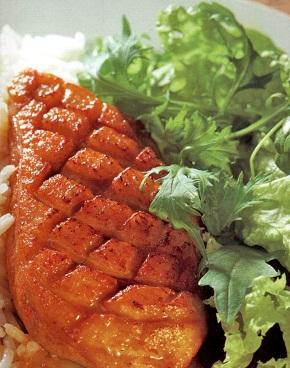 Chilis-zöldcitromos kacsamell