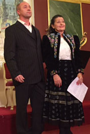 Muskát András és Tokody Ilona