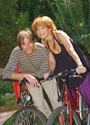 Cserna Antal és felesége, Szalai Kriszta