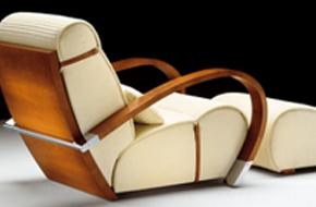 Art Deco bútorok a nappaliban