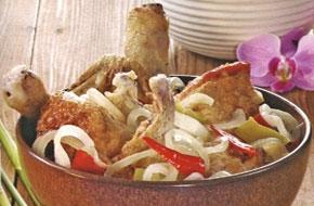 Paprikás – peperonis csirkeragú