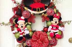 Karácsonyi ajtókoszorú