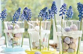 Húsvéti virág dekoráció