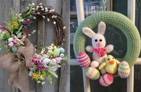Ajtókoszorú húsvétra