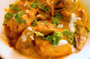Indiai ízek - Sáfrányos csirke